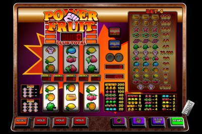 Power Fruit fruitkast spelen!