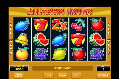 All Ways Fruits fruitkast