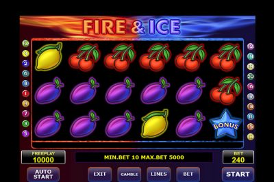 Fire & Ice fruitkast